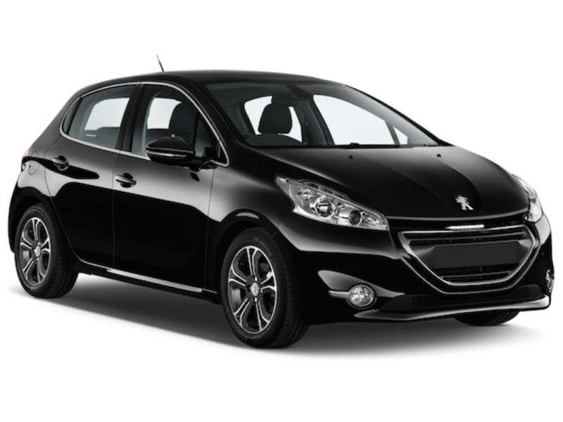Red Line Rent a Car Special offer Peugeot 208