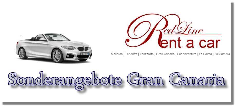 Autovermietung Gran Canaria Red Line Rent a Car Mietwagen-Sonderangebote-Gran Canaria