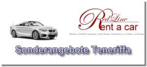 Autovermietung Teneriffa Red Line Rent a Car Mietwagen Sonderangebote